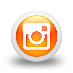 glossy-orange-orb-instagram-icon