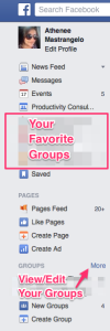 FB - Mng groups
